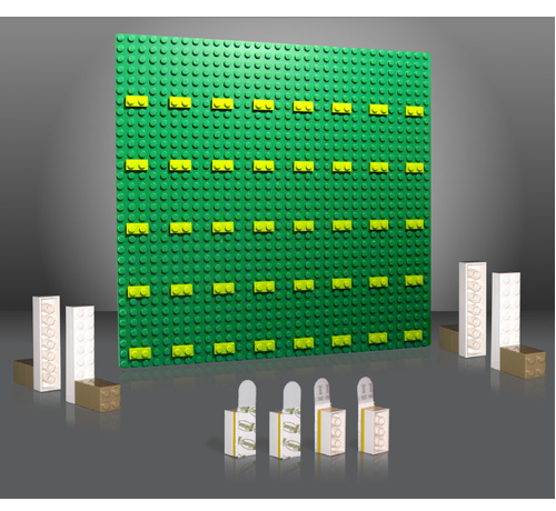 Brick Rack Display And Organize Your Lego Sets