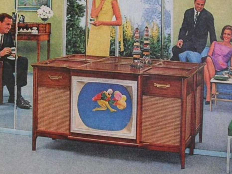Lego Moc Vintage Magnavox Console Television Hifi